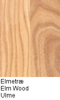 Elm wood sample