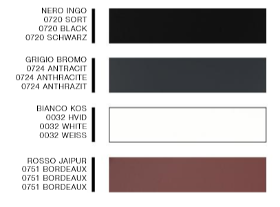 NANO LAMINATE COLORS2018 2500